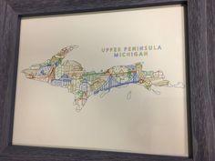 Upper Peninsula Michigan Townsville Art
