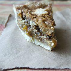 Being the Secret Ingredient: Honey-Walnut Pie and Homemade Butter Crust