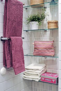 Ideas Bathroom Shelves Over Toilet Glass Linen Closets Shelves Over Toilet, Bathroom Shelves, Bathroom Storage, Glass Shelves, Bathroom Cabinets, Bathroom Small, Linen Cabinets, Towel Storage, Linen Storage