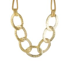 I love the RJ Graziano Large Chain Link Necklace from LittleBlackBag