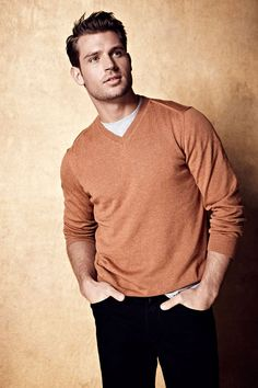 Steve Boyd by Dean Isidro for Lord and Taylor - I can totally see him on the cover of a Harlequin Romance