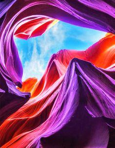 Antelope Canyon,Arizona ,USA: