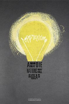 light bulb poster design - Google Search