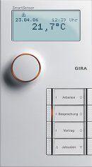 Gira 1246661 SmartSensor 4fach KNX/EIB Reinweiss