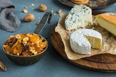 Chutney til ost med aprikos, valnøtter, appelsinsaft- og skall og stjerneanis