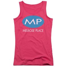 Melrose Place - Melrose Place Logo Junior Tank Top