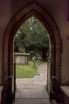 St Nicholas church porch, Castle Combe