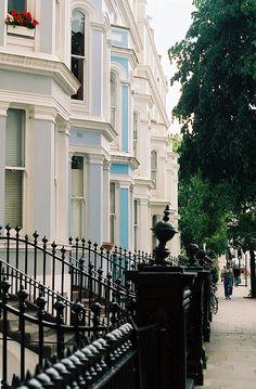 | ♕ |  Notting Hill, London  | by © Rachel | via ysvoice