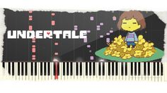 """1-Hour"" UNDERTALE Compilation【OST Piano Music】Synthesia ❖Tutorial Piano..."