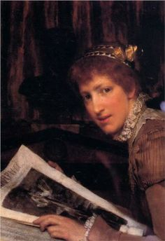 Interrupted - Sir Lawrence Alma-Tadema