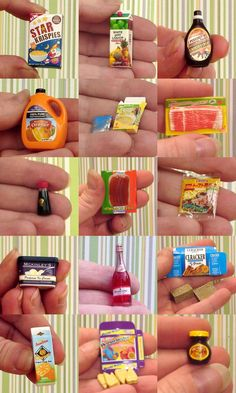 mini packaged food