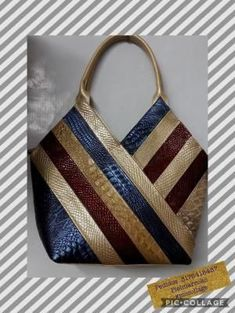 Trendy diy bag and purses leather 70 ideas Tote Handbags, Purses And Handbags, Leather Purses, Leather Handbags, Sacs Design, Diy Bags Purses, Diy Handbag, Kelly Bag, Purse Handles