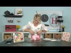 Heidi shows you in this video episode how to create this fun mini album. No-Rules, Mix- it-up, table top album. Want to combine extra scrap paper, and a bunch of photos into something unforgettable!? (in 30 minutes or less!?)