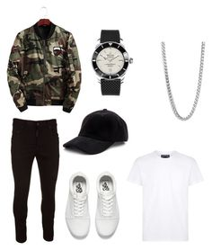 """""""Date night, just might get lucky mate"""" by tomasi-nasau on Polyvore featuring Vilebrequin, Vans, Dsquared2, NOLA, Perepaix, Breitling, men's fashion and menswear"""