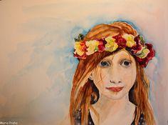 Дочка приятеля. - О Праге, Чехии, путешествиях и искусстве Portraits, Artwork, Painting, Work Of Art, Auguste Rodin Artwork, Painting Art, Paintings, Portrait Paintings, Portrait