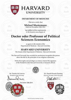 Harvard University School of Medicine Degrees Howard University, University Diploma, University Degree, College Diploma, Degree Certificate, Certificate Design, Certificate Templates, Harvard Universität, Professor