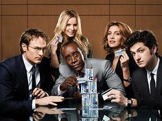 House of Lies -- new Showtime series...big hopes for this. Love Don Cheadle...