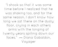 crying in each other's arms, with the longing of twenty years spilling down our faces. Diana Gabaldon Outlander Series, Outlander Book Series, Starz Series, Scottish Culture, Jaime Fraser, Outlander Quotes, Best Love Stories, James Patterson, Jamie And Claire