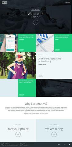 Locomotive http://flattrendz.com/?post_type=showcase&p=4665 #flatuidesign