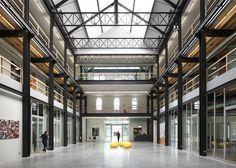 White Yellow Cross Archipl Architects