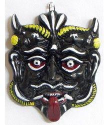 demon mask-remover of bad omen....Terracotta