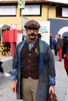 See what the most stylish men in Florence are rocking right now.
