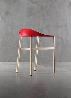 Konstantin Grcic | 'Monza' armchair | wood and plastic injection moulding | 2009 | konstantin-grcic.com