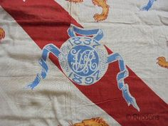 Rare commemorative flag or banner for Queen Victoria's diamond jubilee Hand tacked hem to the top and bottom, possibly for narrow poles? Nice display piece, or authentic period prop. Measures approx x Hole Saw, Queen Victoria, Print Pictures, Vintage Ceramic, Retro Vintage, Banner, Flag, Diamond, Antiques