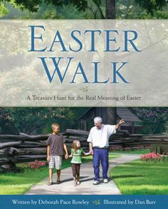 Fun Easter Ideas for Teaching Kids About Jesus: Easter Walk