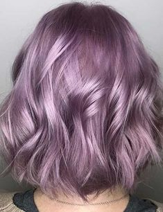 40 Perfect Hair Colors For Winter 40 Perfect Hair Colors For Wi… - All For Hair Color Trending Perfect Hair Color, Pretty Hair Color, Hair Color Purple, Hair Dye Colors, Cute Hair Colors, Hair Color Ideas, Silver Purple Hair, Silver Lavender Hair, Hair Ideas
