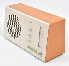 Braun RT20 Tube Radio Dieter Rams Braun Design | eBay. It's hard to improve upon such a great model.
