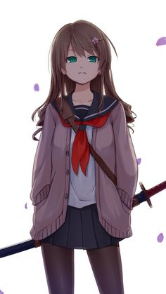 Картинки по запросу girl with katana