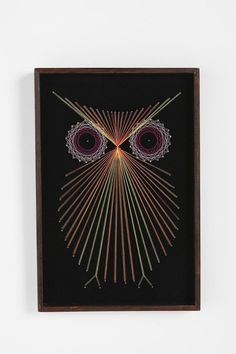 String art - owl
