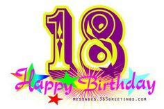 18th-birthday-wishes - Messages, Wordings and Gift Ideas