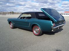 1965 Ford Mustang Retractable Hardtop  Maintenance/restoration of old/vintage vehicles: the material for new cogs/casters/gears/pads could be cast polyamide which I (Cast polyamide) can produce. My contact: tatjana.alic@windowslive.com