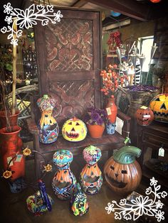 Fall is in the air at the Pottery Shop.