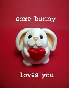 bunny - would be lovely in cold porcelain. by carlene