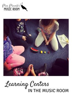 Learning centers in the music room: Ideas and strategies for centers, or…