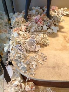 "Anthony Luscia on Twitter: ""Love these plaster dipped flowers @bhldn gorg for wedding tweet! http://t.co/Ryj8s0a7T6"""