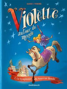 Les aventures du cirque de la Lune et de Violetta, fille d'une femme-canon et d'un dompteur d'insectes, qui traverse le monde, de Paris au sommet de l'Himalaya et jusqu'aux grandes plaines américaines à la rencontre de ses héros, parmi lesquels Henri de Toulouse-Lautrec, Antonin Dvorak et d'autres encore.