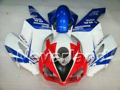 Honda CBR 1000RR 2004-2005 ABS Fairing - Red/Blue/White #2005hondacbr1000rrfairings #2004cbr1000rrfairings
