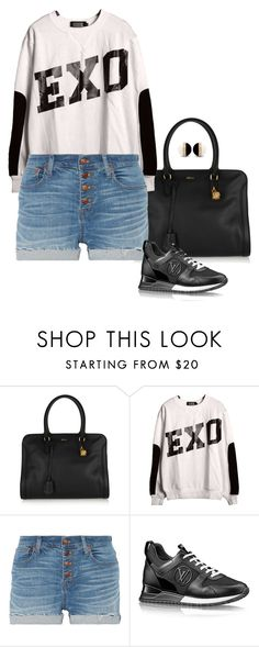 """""""EXO Gloves."""" by foreverforbiddenromancefashion ❤ liked on Polyvore featuring Alexander McQueen, KRISVANASSCHE and Madewell"""
