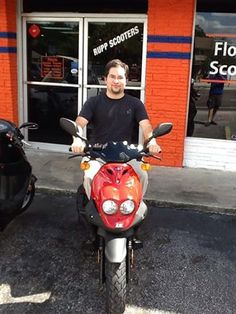 Joseph bought his new Roughhouse with our #BackToSchool with Genuine Sale and so can you! Head into Wild Hogs Scooters and Motorsports in #Florida or any of our authorized dealers to take advantage of the last day of this great deal!