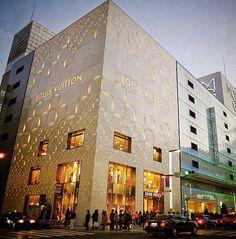 Fachada loja Louis Vuitton