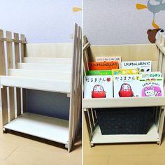 佐藤 哲矢さんはInstagramを利用しています:「子供の絵本が増えてきたから本棚作った #日曜大工 #すのこ #本棚 #あとは白に塗装したら完成 #自分の本棚も作ろうかな」