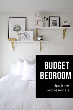 This budget bedroom makeover came in under budget! Take a look to shop the room. Included are tips to keep on budget when making over a space. Trendy Home Decor, Diy Home Decor, Home Renovation, Home Remodeling, Ikea, Budget Bedroom, Bedroom Ideas, Bedroom Decor, Bedroom Makeovers