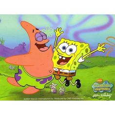 Spongebob and Patrick ❤ liked on Polyvore