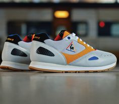 new styles 3007a 9c19d Le Coq Sportif Flash x Crooked Tongues-French Exchange Moda Hombre,  Zapatillas, Tenis