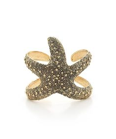 Seaside Starfish Cuff - Gold  $15