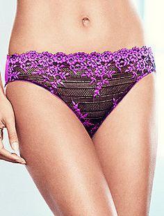 2 PC Set Wacoal Embrace Lace Chemise 814191 matching panties 64391 Nude//black S